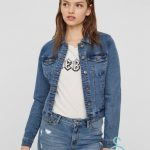 VMHOT SOYA LS DENIM JACKET MIX GA NOOS