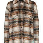 VMALLY CHECK JACKET