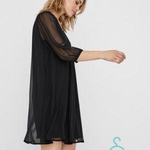VMFALLON 3/4 SHORT DRESS WVN