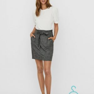 VMEVA HR PAPERBAG SHORT AMY SKIRT COLOR