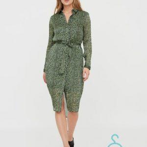 VMKATINKA L/S SHIRT DRESS EXP