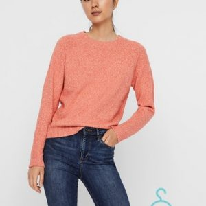 VMDOFFY LS O-NECK BLOUSE GA COLOR