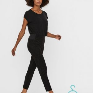 VMCAVA NW FAUX SUEDE LEGGING JRS BOO
