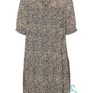 VMELIN 2/4 SHORT DRESS WVN GA LCS