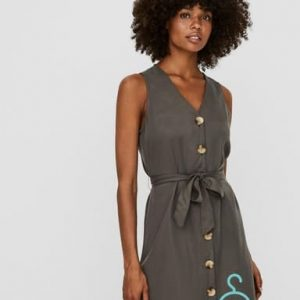 VMVIVIANA SL SHORT DRESS GA COLOR